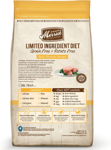Merrick - Limited Ingredient Diet Real Chicken Recipe (Grain Free Dry Cat Food)