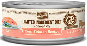 Merrick - Limited Ingredient Diet Real Salmon Recipe Paté (Grain Free Adult Wet Cat Food)