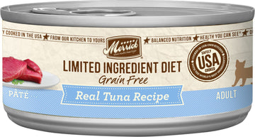 Merrick - Limited Ingredient Diet Real Tuna Recipe Paté (Grain Free Adult Wet Cat Food)