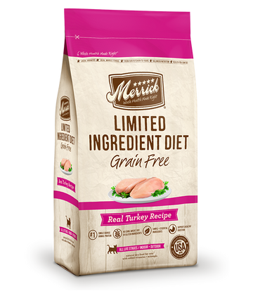 Merrick - Limited Ingredient Diet Real Turkey Recipe (Grain Free Dry Cat Food)