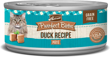 Merrick - Purrfect Bistro Grain Free Duck Pâté (Canned Cat Food)