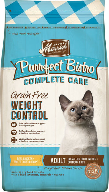 Merrick - Purrfect Bistro Complete Care Weight Control Recipe (Grain Free Dry Cat Food)