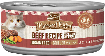 Merrick - Purrfect Bistro Grain Free Grilled Beef & Vegetables Recipe (Canned Cat Food)