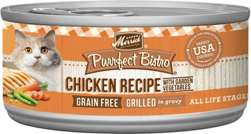 Merrick - Purrfect Bistro Grain Free Grilled Chicken & Vegetables Recipe (Canned Cat Food)