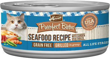 Merrick - Purrfect Bistro Grain Free Grilled Mixed Seafood Recipe (Canned Cat Food)