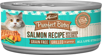 Merrick - Purrfect Bistro Grain Free Grilled Salmon & Vegetables Recipe (Canned Cat Food)