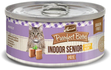 Merrick - Purrfect Bistro Grain Free Indoor Senior Pâté (Canned Adult Cat Food)