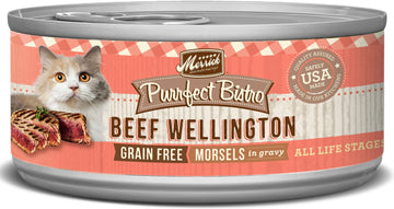 Merrick - Purrfect Bistro Grain Free Morsels Beef Wellington (Canned Cat Food)
