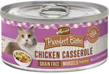 Merrick - Purrfect Bistro Grain Free Morsels Chicken Casserole (Canned Cat Food)