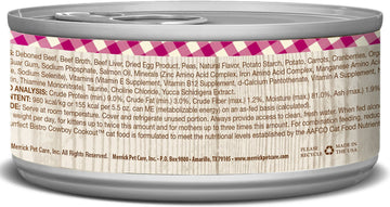 Merrick - Purrfect Bistro Grain Free Morsels Cowboy Cookout (Canned Cat Food)