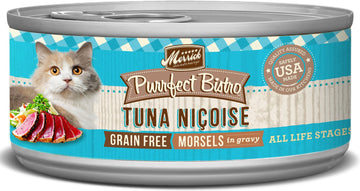 Merrick - Purrfect Bistro Grain Free Morsels Tuna Nicoise (Canned Cat Food)