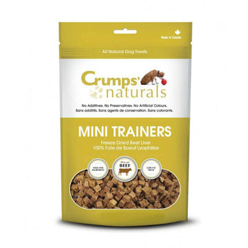 Crumps' Naturals - Mini Trainers Freeze Dried Beef Liver Treat