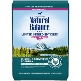 Natural Balance - Limited Ingredient - Chicken & Brown Rice Small Breed (Dry Dog Food)