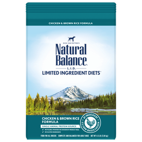 Natural Balance - Limited Ingredient - Chicken & Brown Rice (Dry Dog Food)