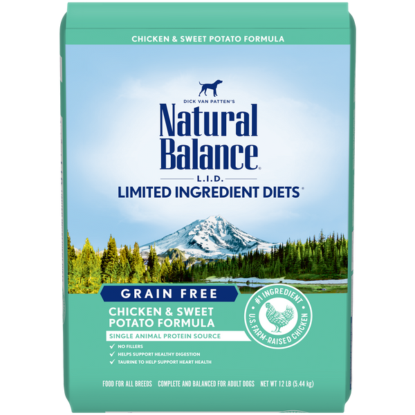 Natural Balance - Limited Ingredient - Grain Free Chicken & Sweet Potato (Dry Dog Food)
