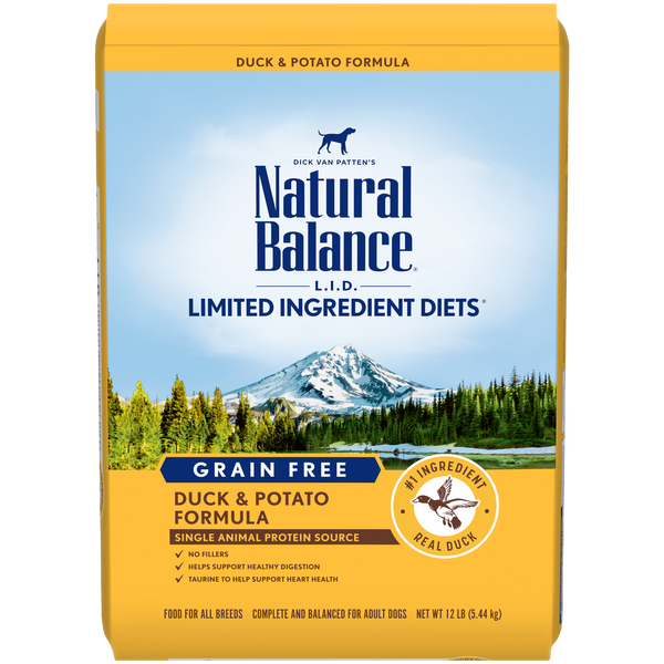 Natural Balance - Limited Ingredient - Grain Free Duck & Potato (Dry Dog Food)