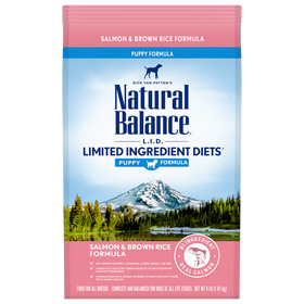 Natural Balance - Limited Ingredient - Salmon & Brown Rice (Dry Puppy Food)