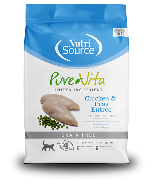 NutriSource - PureVita - Grain Free Chicken & Peas Entrée (Dry Dog Food)