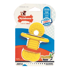Nylabone - Puppy Rubber Teether (Vanilla Falvor)
