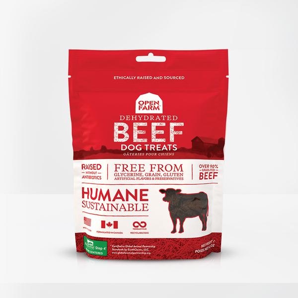 Open Farm - Dehydrated Grass Fed Beef Treat