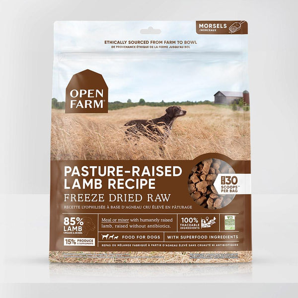 Open Farm - Pasture-raised Lamb Freeze Dried Raw Dog Food
