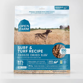 Open Farm - Surf & Turf Freeze Dried Raw Dog Food