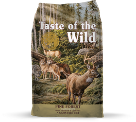 Taste of the Wild - Pine Forest with Venison & Legumes (Dry Grain-Free Dog Food)
