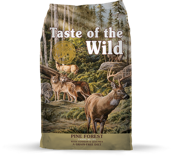 Taste of the Wild - Pine Forest with Venison & Legumes (Dry Grain-Free Dog Food) - ARMOR THE POOCH
