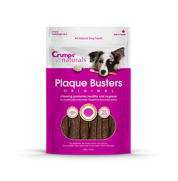 Crumps' Natural Plaque Busters Original with Oyster Treat