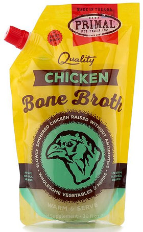 Primal - Bone Broth - Chicken (For Dogs and Cats) - Frozen Product