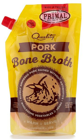 Primal - Bone Broth - Pork (For Dogs and Cats) - Frozen Product