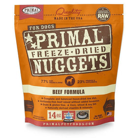 Primal - Freeze Dried Nuggets - Beef Formula (Dog Food)
