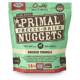 Primal - Freeze Dried Nuggets - Chicken Formula (Dog Food)