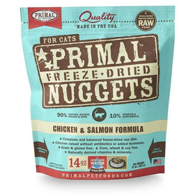 Primal - Freeze Dried Nuggets - Chicken & Salmon Formula (Cat Food)