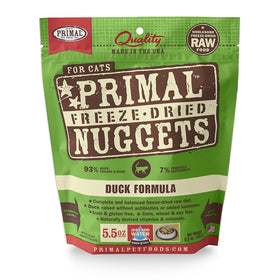Primal - Freeze Dried Nuggets - Duck Formula (Cat Food)