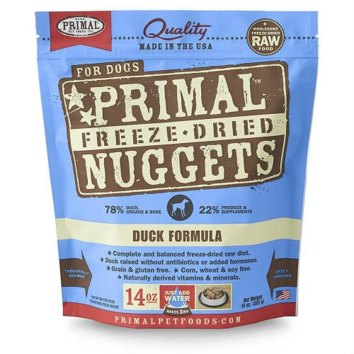 Primal - Freeze Dried Nuggets - Duck Formula (Dog Food)