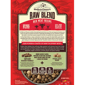 Stella & Chewy's - Red Meat Raw Blend Grain Free Kibble (For Dogs)