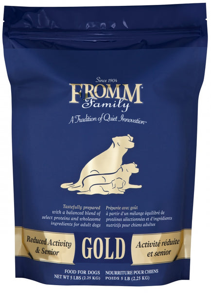 Fromm - Reduced Activity & Senior Gold (Dry Dog Food) - ARMOR THE POOCH