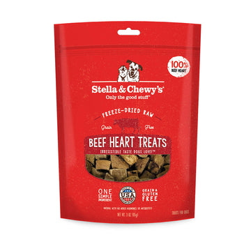 Stella & Chewy's -  Beef Heart Freeze-Dried Raw (Dog Treats)
