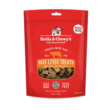 Stella & Chewy's -  Beef Liver Freeze-Dried Raw (Dog Treats)
