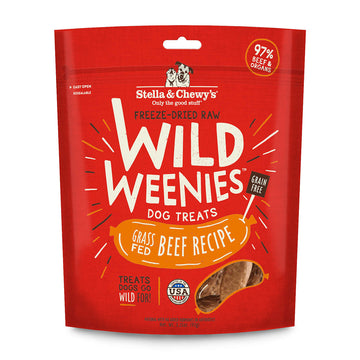 Stella & Chewy's -  Beef Wild Weenies Freeze-Dried Raw (Dog Treats)
