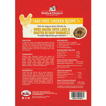 Stella & Chewy's -  Cage-Free Chicken Raw Coated Biscuits (Dog Treats)