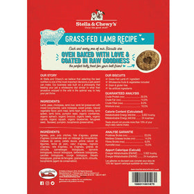 Stella & Chewy's -  Cage-Free Grass-Fed Lamb Raw Coated Biscuits (Dog Treats)
