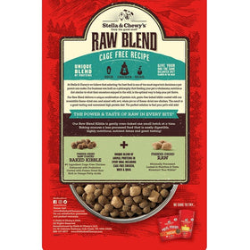 Stella & Chewy's - Cage Free Raw Blend Kibble (For Dogs)