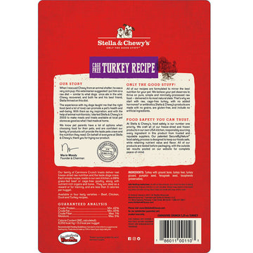 Stella & Chewy's -  Carnivore Crunch Cage-Free Turkey Recipe Freeze-Dried Raw (Dog Treats)