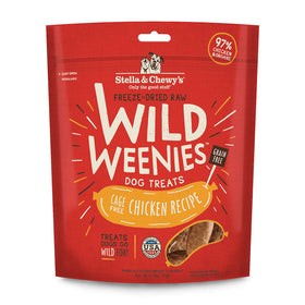 Stella & Chewy's -  Chicken Wild Weenies Freeze-Dried Raw (Dog Treats)