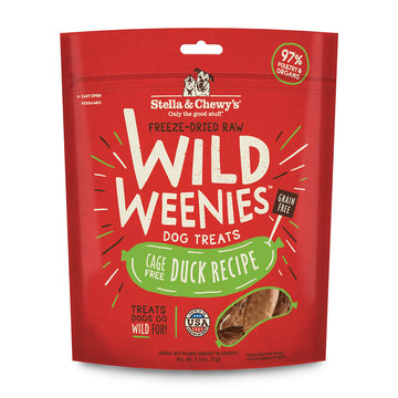 Stella & Chewy's -  Duck Wild Weenies Freeze-Dried Raw (Dog Treats)