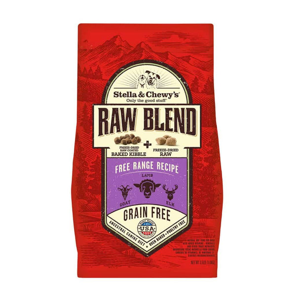 Stella & Chewy's - Free Range Raw Blend Kibble (For Dogs)