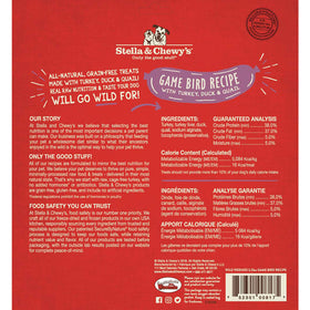 Stella & Chewy's -  Game Bird Wild Weenies Freeze-Dried Raw (Dog Treats)