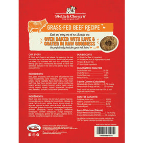 Stella & Chewy's -  Grass Fed Beef Raw Coated Biscuits (Dog Treats)